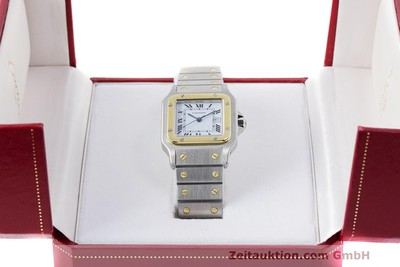CARTIER SANTOS ACIER / OR AUTOMATIQUE KAL. ETA 2671 LP: 7100EUR [162318]