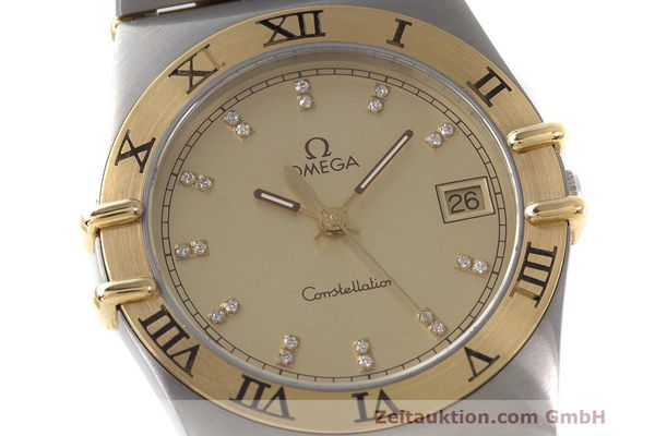 Used luxury watch Omega Constellation steel / gold quartz Kal. 1441  | 162320 02