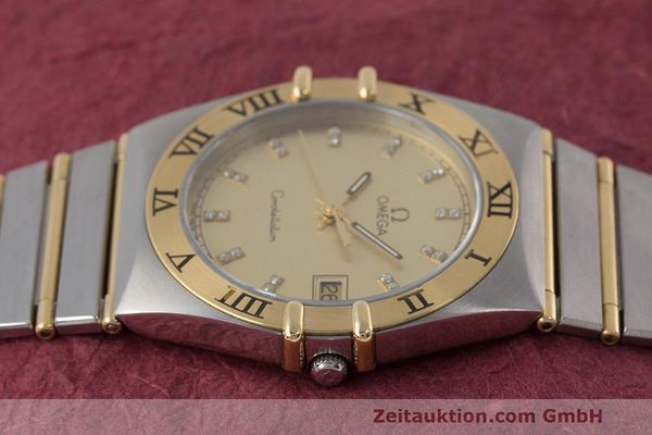 Used luxury watch Omega Constellation steel / gold quartz Kal. 1441  | 162320 05