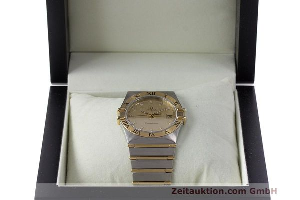 Used luxury watch Omega Constellation steel / gold quartz Kal. 1441  | 162320 07