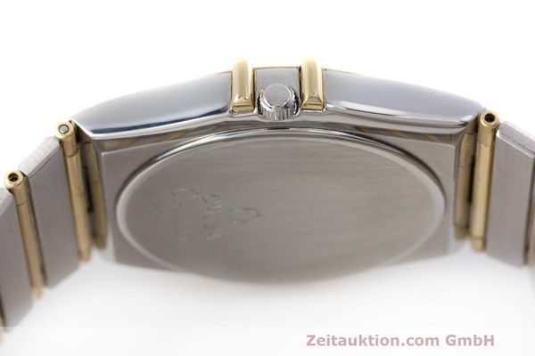 Used luxury watch Omega Constellation steel / gold quartz Kal. 1441  | 162320 08
