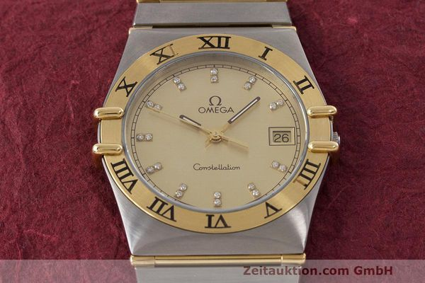 Used luxury watch Omega Constellation steel / gold quartz Kal. 1441  | 162320 14