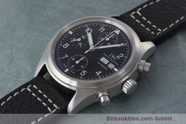 Used luxury watch IWC Fliegerchronograph chronograph steel automatic Kal. 7922 Ref. 3706  | 162325 01