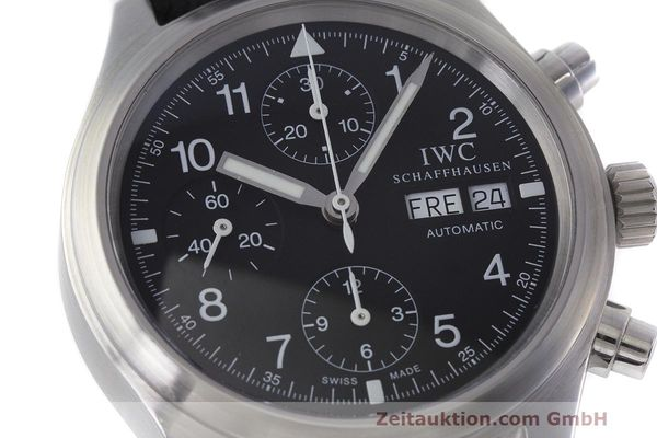 Used luxury watch IWC Fliegerchronograph chronograph steel automatic Kal. 7922 Ref. 3706  | 162325 02