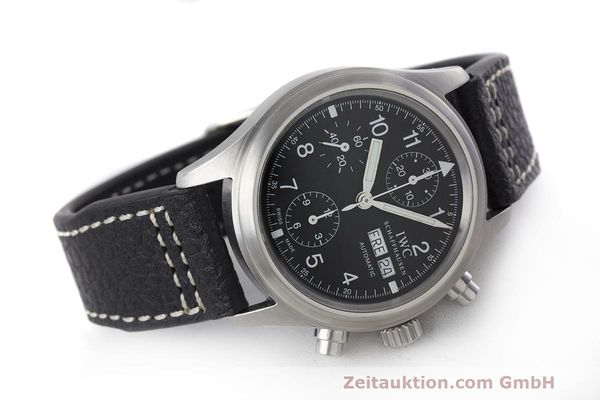 Used luxury watch IWC Fliegerchronograph chronograph steel automatic Kal. 7922 Ref. 3706  | 162325 03