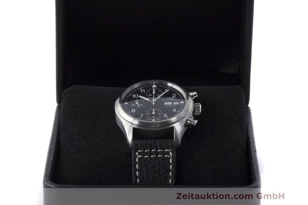 Used luxury watch IWC Fliegerchronograph chronograph steel automatic Kal. 7922 Ref. 3706  | 162325 07