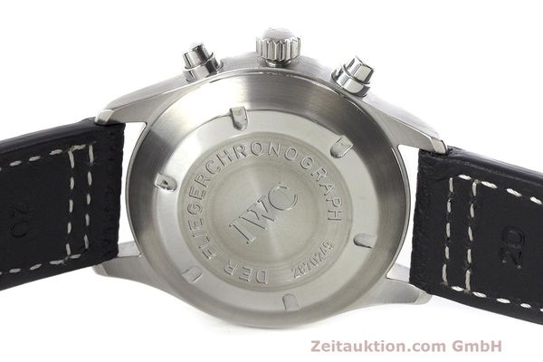 Used luxury watch IWC Fliegerchronograph chronograph steel automatic Kal. 7922 Ref. 3706  | 162325 08