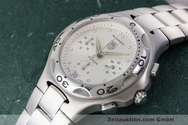 Used luxury watch Tag Heuer Kirium chronograph steel automatic Kal. 17 ETA 2894-2 Ref. CL2112  | 162326 01