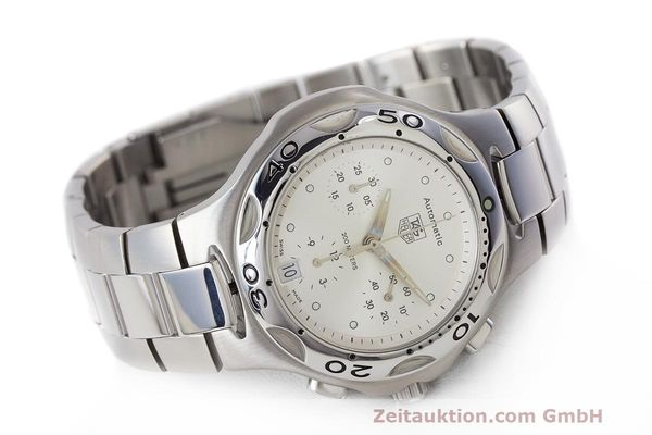 Used luxury watch Tag Heuer Kirium chronograph steel automatic Kal. 17 ETA 2894-2 Ref. CL2112  | 162326 03