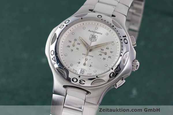 Used luxury watch Tag Heuer Kirium chronograph steel automatic Kal. 17 ETA 2894-2 Ref. CL2112  | 162326 04
