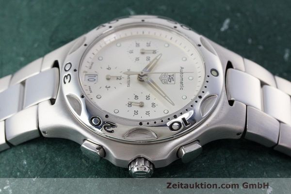 Used luxury watch Tag Heuer Kirium chronograph steel automatic Kal. 17 ETA 2894-2 Ref. CL2112  | 162326 05