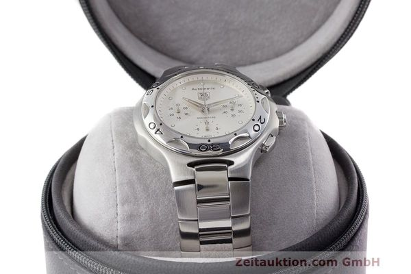 Used luxury watch Tag Heuer Kirium chronograph steel automatic Kal. 17 ETA 2894-2 Ref. CL2112  | 162326 07