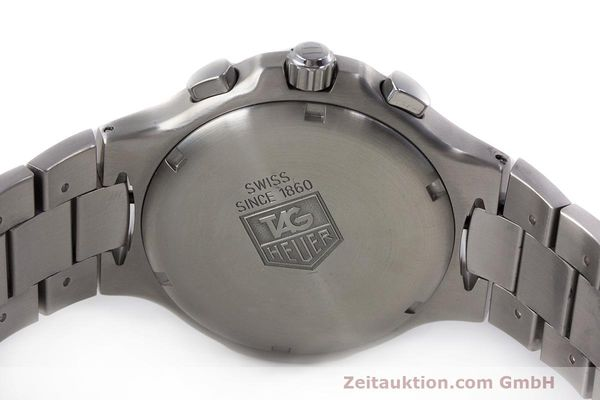 Used luxury watch Tag Heuer Kirium chronograph steel automatic Kal. 17 ETA 2894-2 Ref. CL2112  | 162326 09
