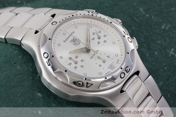 Used luxury watch Tag Heuer Kirium chronograph steel automatic Kal. 17 ETA 2894-2 Ref. CL2112  | 162326 16
