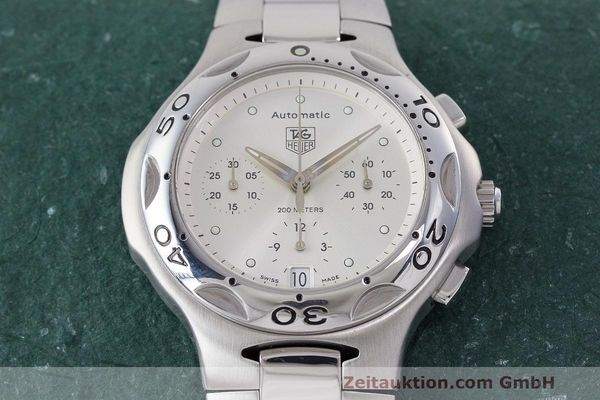 Used luxury watch Tag Heuer Kirium chronograph steel automatic Kal. 17 ETA 2894-2 Ref. CL2112  | 162326 17