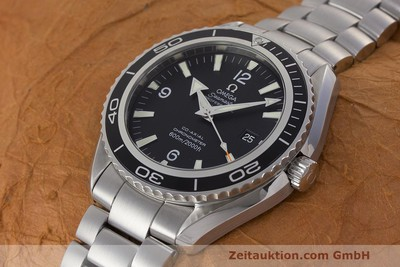 OMEGA SEAMASTER PLANET OCEAN CO AXIAL STAHL HERRENUHR 22005000 VP: 4800,- EURO [162328]