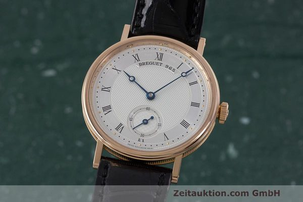 BREGUET CLASSIQUE 18 CT RED GOLD MANUAL WINDING KAL. 511DR LP: 11800EUR [162329]