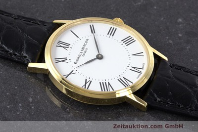 BAUME & MERCIER 18 CT GOLD QUARTZ KAL. BM5001 ETA 901.001 [162330]
