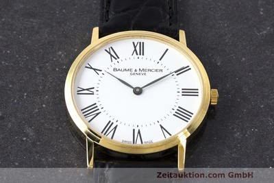 BAUME & MERCIER OR 18 CT QUARTZ KAL. BM5001 ETA 901.001 [162330]