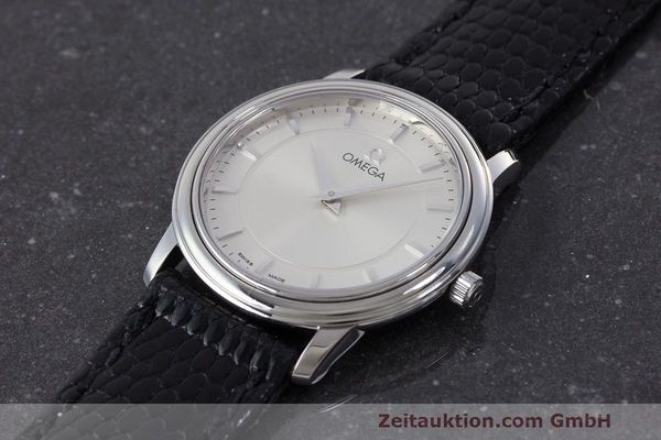 Used luxury watch Omega De Ville steel quartz Kal. 1470 ETA 282.001 Ref. 595.1050  | 162340 01