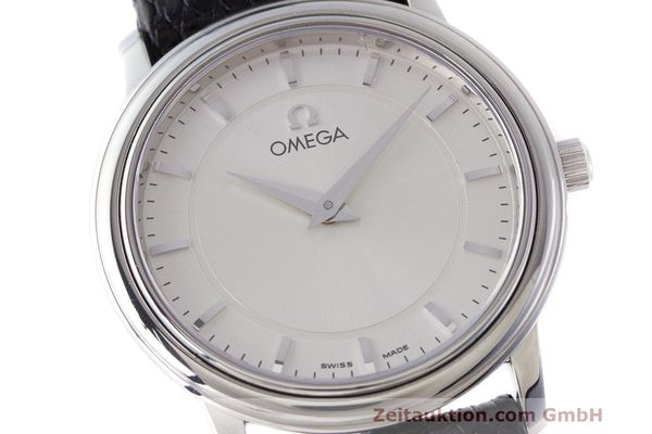 Used luxury watch Omega De Ville steel quartz Kal. 1470 ETA 282.001 Ref. 595.1050  | 162340 02