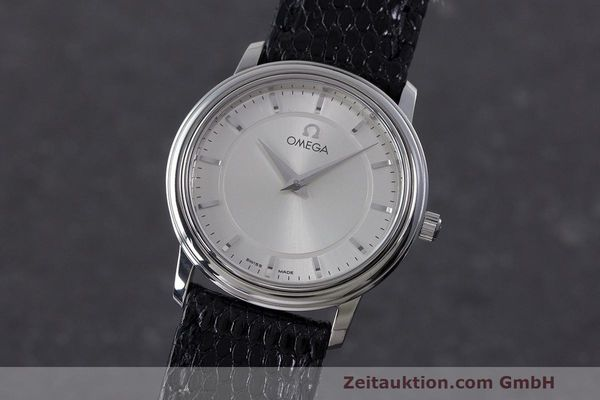 Used luxury watch Omega De Ville steel quartz Kal. 1470 ETA 282.001 Ref. 595.1050  | 162340 04
