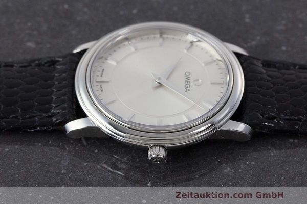 Used luxury watch Omega De Ville steel quartz Kal. 1470 ETA 282.001 Ref. 595.1050  | 162340 05