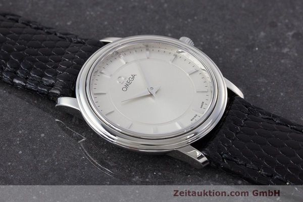 Used luxury watch Omega De Ville steel quartz Kal. 1470 ETA 282.001 Ref. 595.1050  | 162340 13
