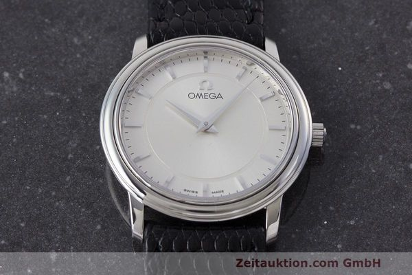 Used luxury watch Omega De Ville steel quartz Kal. 1470 ETA 282.001 Ref. 595.1050  | 162340 14