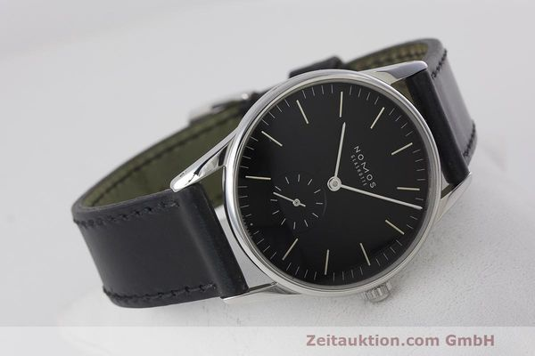 Used luxury watch Nomos Orion steel manual winding Kal. Alpha  | 162344 03