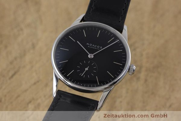 NOMOS ORION ACERO CUERDA MANUAL KAL. ALPHA LP: 1520EUR [162344]