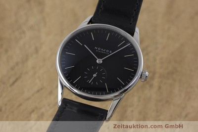 NOMOS ORION STEEL MANUAL WINDING KAL. ALPHA LP: 1520EUR [162344]