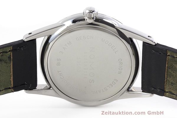 Used luxury watch Nomos Orion steel manual winding Kal. Alpha  | 162344 09