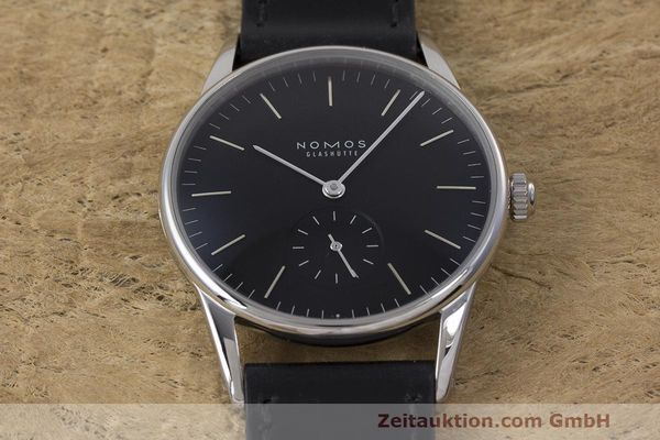 Used luxury watch Nomos Orion steel manual winding Kal. Alpha  | 162344 16