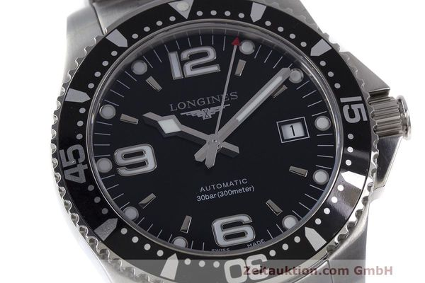 Used luxury watch Longines Hydro Conquest steel automatic Kal. L633.5 ETA 2824-2 Ref. L3.642.4.566  | 162346 02