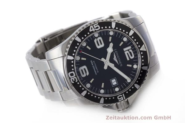 Used luxury watch Longines Hydro Conquest steel automatic Kal. L633.5 ETA 2824-2 Ref. L3.642.4.566  | 162346 03