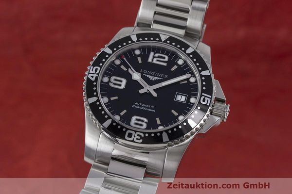 Used luxury watch Longines Hydro Conquest steel automatic Kal. L633.5 ETA 2824-2 Ref. L3.642.4.566  | 162346 04