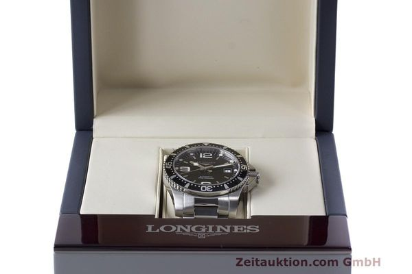 Used luxury watch Longines Hydro Conquest steel automatic Kal. L633.5 ETA 2824-2 Ref. L3.642.4.566  | 162346 07