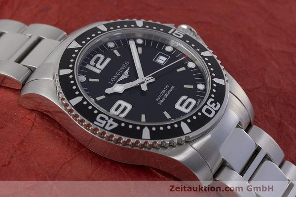 Used luxury watch Longines Hydro Conquest steel automatic Kal. L633.5 ETA 2824-2 Ref. L3.642.4.566  | 162346 17