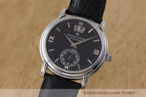 MAURICE LACROIX MASTERPIECE STEEL AUTOMATIC KAL. ML58 LP: 2650EUR [162349]