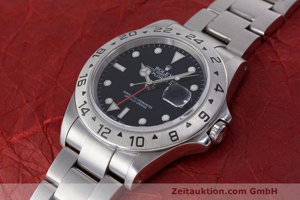 Used luxury watch Rolex Explorer II steel automatic Kal. 3185 Ref. 16570  | 162350 01