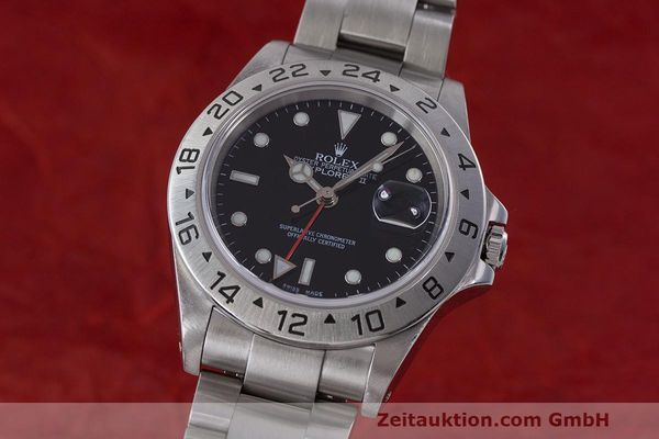 Used luxury watch Rolex Explorer II steel automatic Kal. 3185 Ref. 16570  | 162350 04