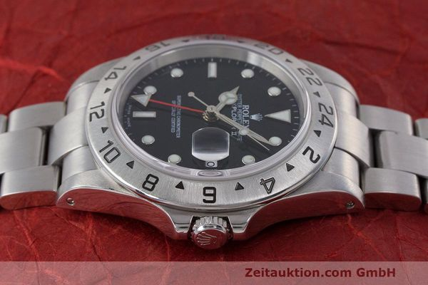 Used luxury watch Rolex Explorer II steel automatic Kal. 3185 Ref. 16570  | 162350 05