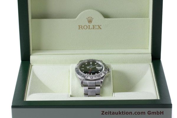Used luxury watch Rolex Explorer II steel automatic Kal. 3185 Ref. 16570  | 162350 07