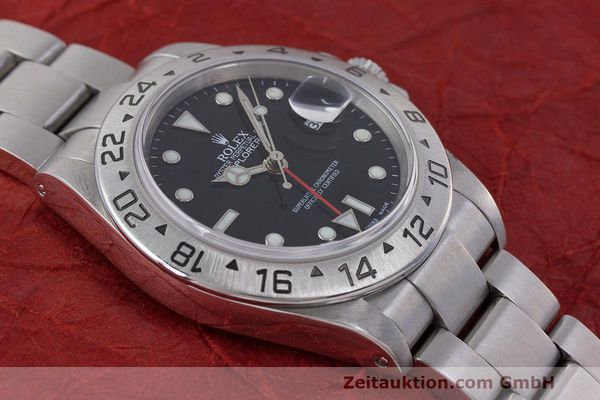 Used luxury watch Rolex Explorer II steel automatic Kal. 3185 Ref. 16570  | 162350 17