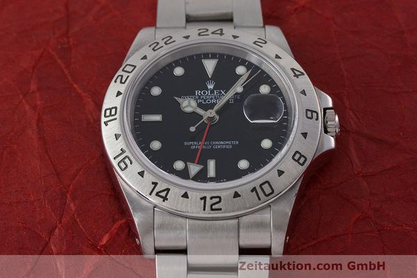 Used luxury watch Rolex Explorer II steel automatic Kal. 3185 Ref. 16570  | 162350 18