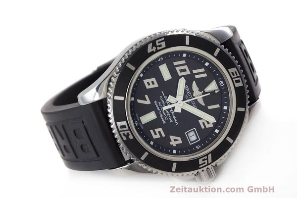 Used luxury watch Breitling Superocean steel automatic Kal. B17 ETA 2824-2 Ref. A17364  | 162354 03