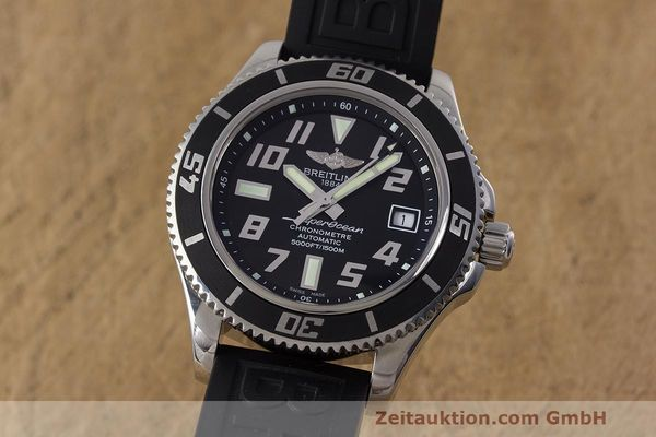 Used luxury watch Breitling Superocean steel automatic Kal. B17 ETA 2824-2 Ref. A17364  | 162354 04