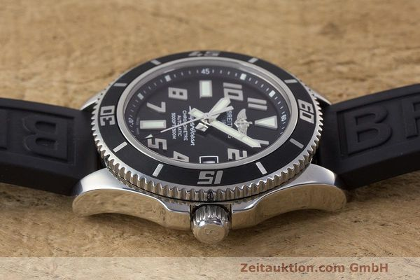 Used luxury watch Breitling Superocean steel automatic Kal. B17 ETA 2824-2 Ref. A17364  | 162354 05
