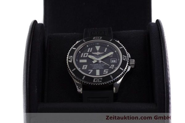 Used luxury watch Breitling Superocean steel automatic Kal. B17 ETA 2824-2 Ref. A17364  | 162354 07
